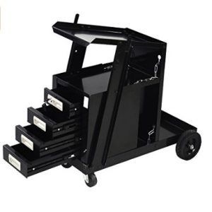 goplus universal welder cart review